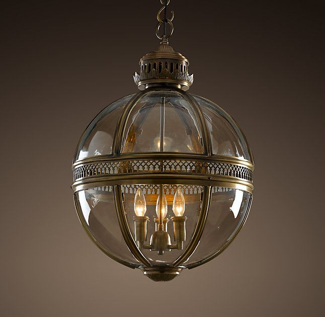 restoration hardware pendant lighting fixtures. rh\u0026 victorian hotel pendant:based on a victorian-era fixture found in grand european hotel, our pendant pairs the intricate open metalwork typical of restoration hardware lighting fixtures l
