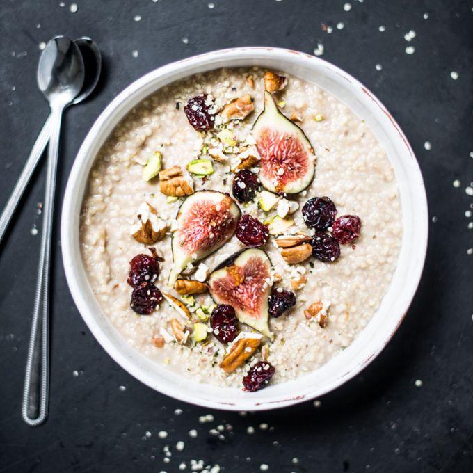 Millet Cinnamon Porridge - By Nadia Damaso of Eat Better Not Less