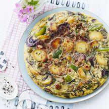 Frittata mit Kartoffeln und Paprika PP 3