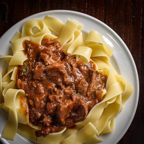 Short Rib Ragù with Pappardelle | Sexy Food | Pinterest