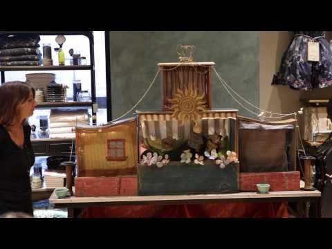Anthropologie Presents: The Wise Sophia Puppet Show by Patsy Grace - YouTube