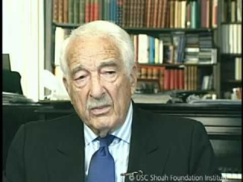 Jewish Survivor Victor Borge Testimony