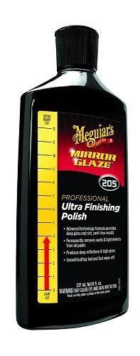 Meguiar's M205 Mirror Glaze Ultra Finishing Polish - 8 oz.