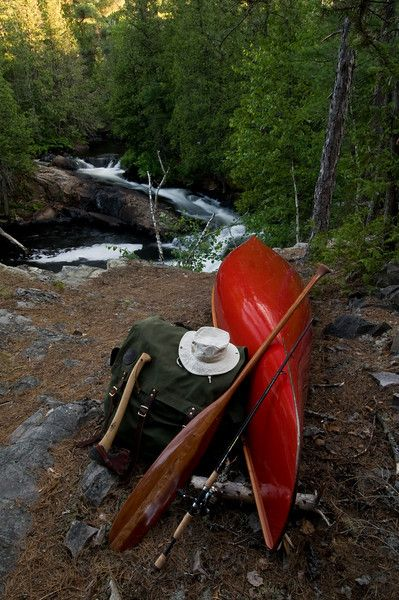 Solo Tripping in the Temagami region of Ontario ... canoe dreams...