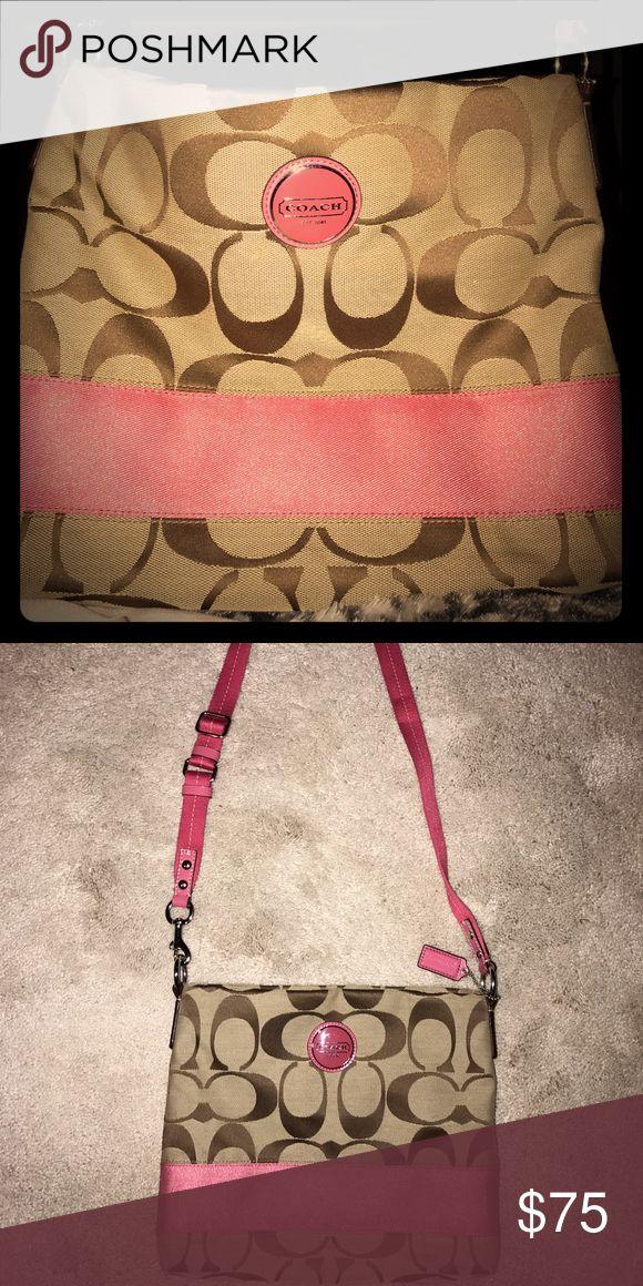 Large crossbody coach purse Like new, never worn, large crossbody bag! Never even taken out of the closet! Bags Crossbody Bags