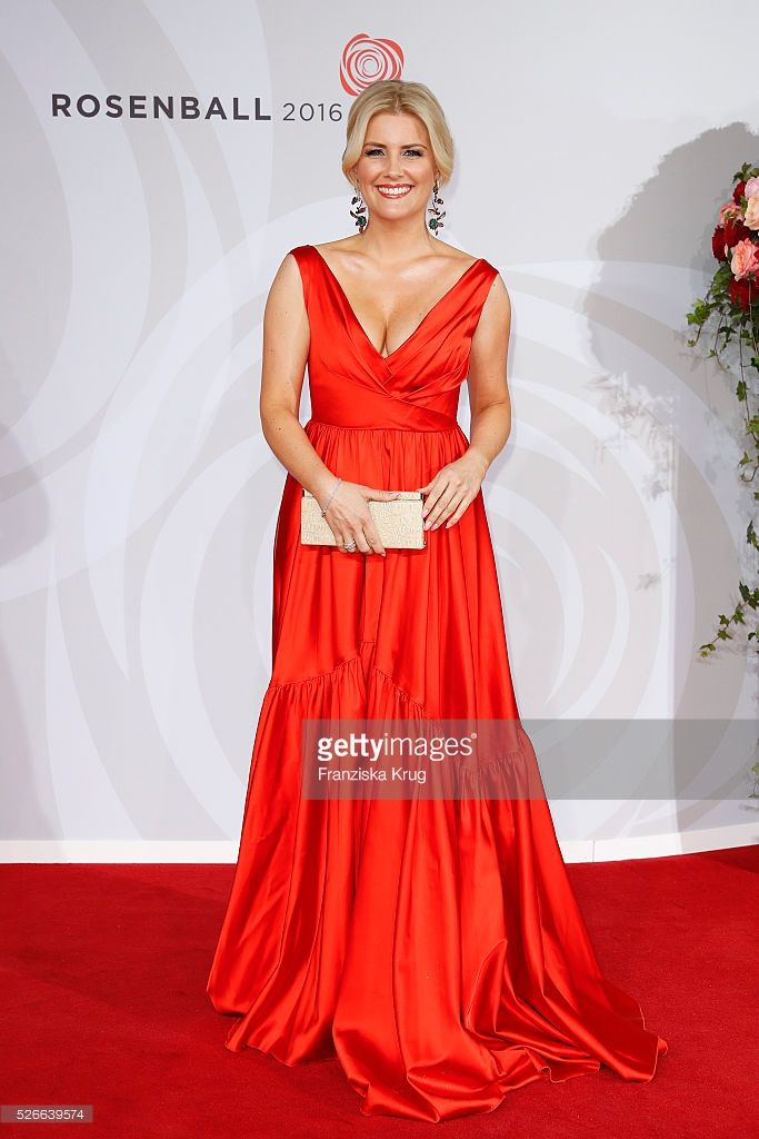 Jennifer Knaeble attends the Rosenball 2016 on April 30 in Berlin, Germany.