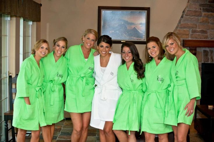 Personalized Spa Robes Bridesmaids gifts