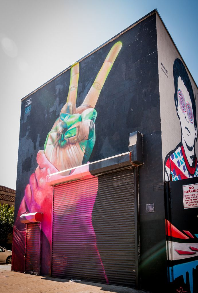 Miami Graffiti In Wynwood Art District Wynwood Art District - Building in berlin gets transformed by amazing 137 foot tall starling mural