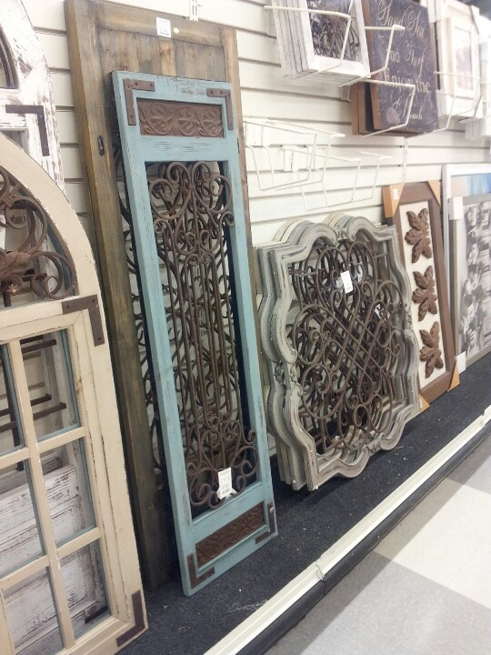 Large architectural wall decor home goods maybe for above master bedroom and or porch house Home decor home goods