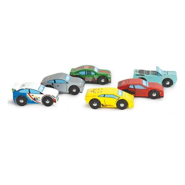 Le Toy Van Monte Carlo sportsvogne i træ