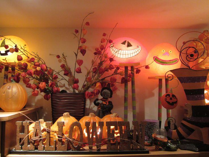 Halloween trio de lampes