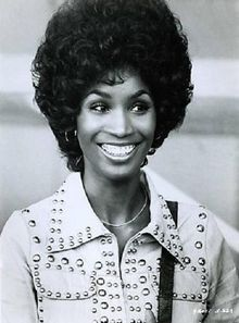 "american actress and singer (from houston, tx!) teresa graves, a regular on rowan & martin's ""laugh in"" and star of the film and tv series ""get christie love!"" at the height of her popularity, she walked away from it all to be a jehovah's witness. #blackbeauty"