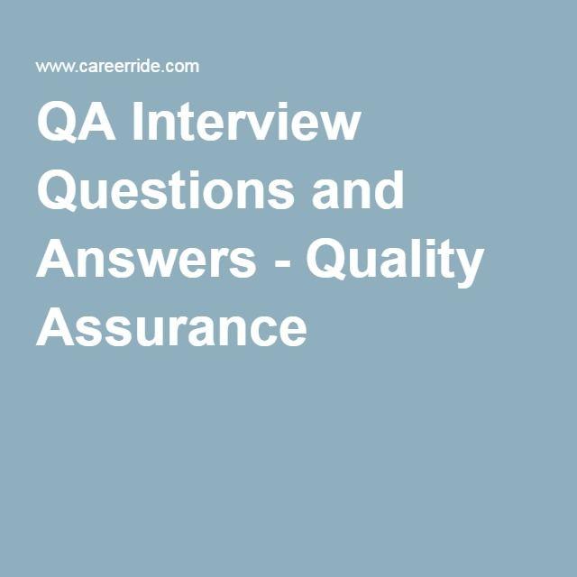 qa testing interview questions