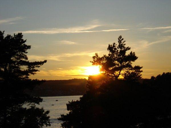 Sunset over Eidangerfjorden. #sunset #norway #nature #beauty