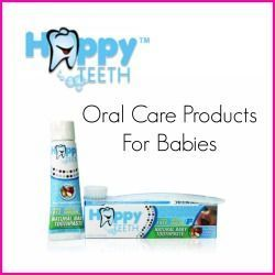 Happy Teeth Natural Oral Care Products for Babies #babys #happy #mouth care …  #mundpflege #oral care