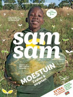 5x Samsam € 15,-: Ontvang Samsam, het tijdschrift voor wereldwijze kinderen uit de bovenbouw, nu een jaar lang thuis!