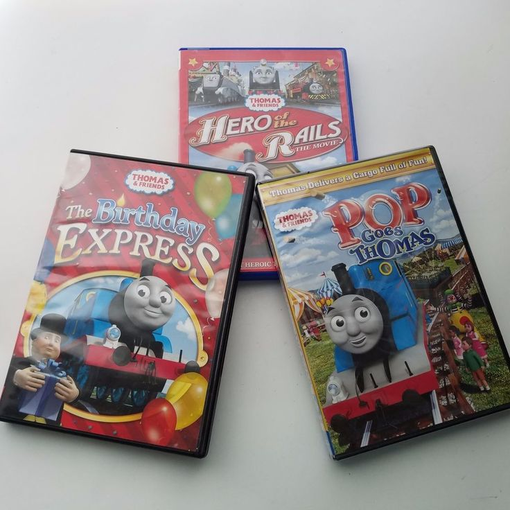Thomas the Train & Friends TV Movie Lot Of 3 DVDs Children's Movies 1 New #ThomasFriends