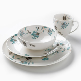 @Overstock - Add stylish elegance to your table setting with this refined 16-piece dinnerware set from Denby. With service for four, this set features a fine china construction with Veronica floral pattern embellishments.http://www.overstock.com/Home-Garden/Denby-Monsoon-Veronica-16-piece-Dinnerware-Set/6805694/product.html?CID=214117 $149.99