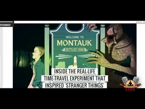 Exploring Stranger Things: Montauk, Stargate Project, Psi Spies - YouTube