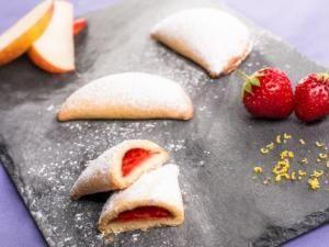 Chaussons croquants aux fruits par Cake L'atelier pour Charles & Alice