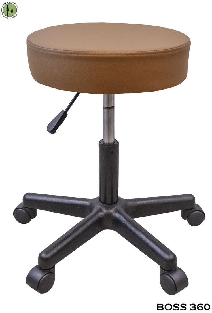 stress colored stool : Light Brown Stool For Tattoo Salon Spa