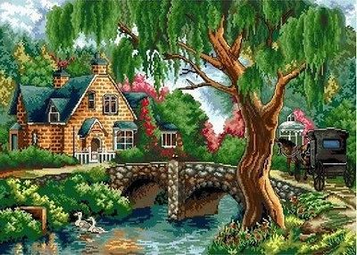 "NEW Cross Stitch Kits""Spring Story"""