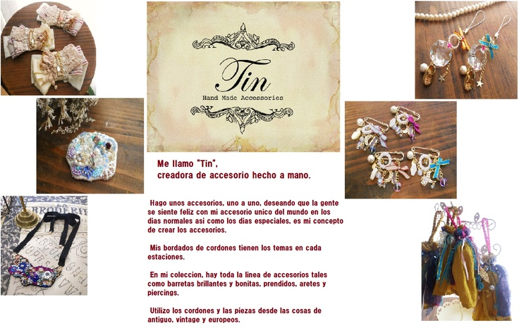 Tin, una joyeria japonesa, joya hecha a mano.