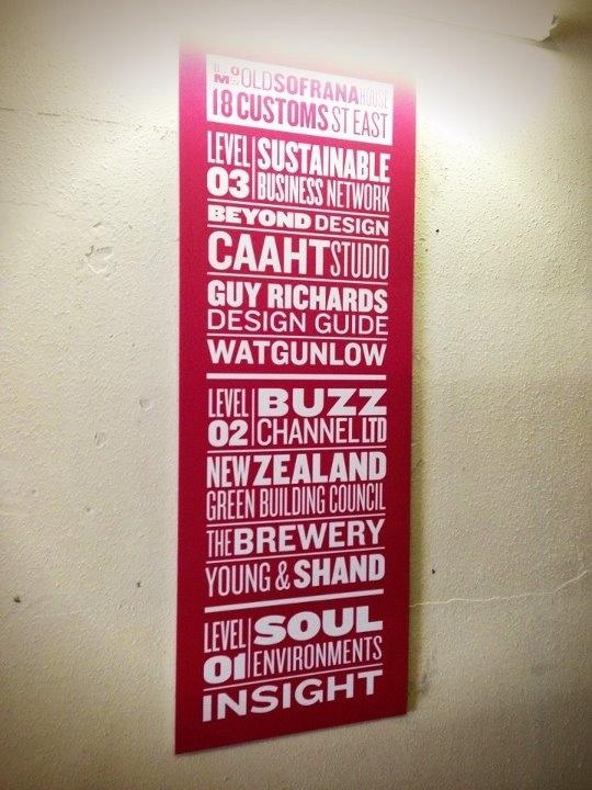 a good signboard