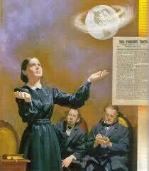 """Some history time On this day in 1848, November 18, Ellen White received a vision from God during which she was shown that her husband James was to start """"a little paper"""", which over time would send """"streams of light around the world"""". Thus was born what was to become Adventist Review, the oldest magazine in the United States. The vision was clearly fulfilled. Today, Adventist Review and her daughter magazine, Adventist World, are distributed to over 150 countries."""