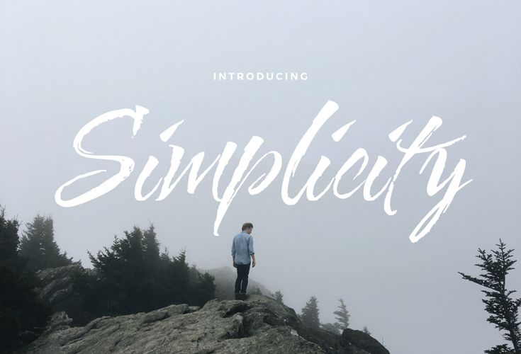 Let's take a quick look at Simplicity Free Script Typefaces! With simple yet unique style, this font is suitable for various designs such as: branding, wedding invitations, logo design, business cards, blog posts or even posters or postcards. Free download!