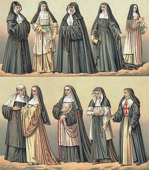 medieval nuns clothing pictures - good blog