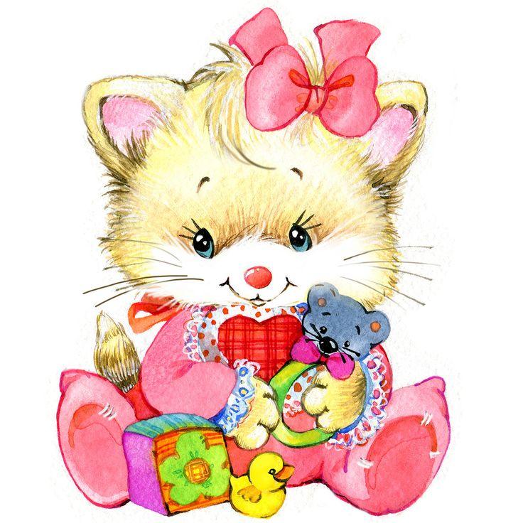 Картинки мишки кошечки