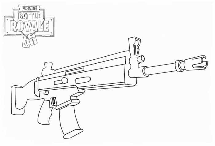 Fortnite Scar Coloring Pages Coloring Pages Coloring Pages To Print Cartoon Coloring Pages