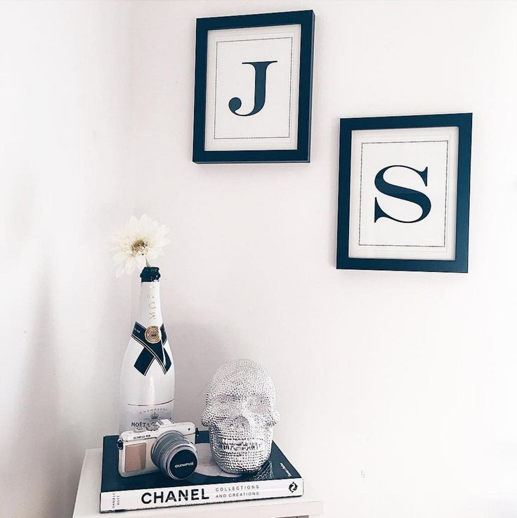 It's all about the personal touches in your home this season, what letters would you go for? (@jessicamichellexx)