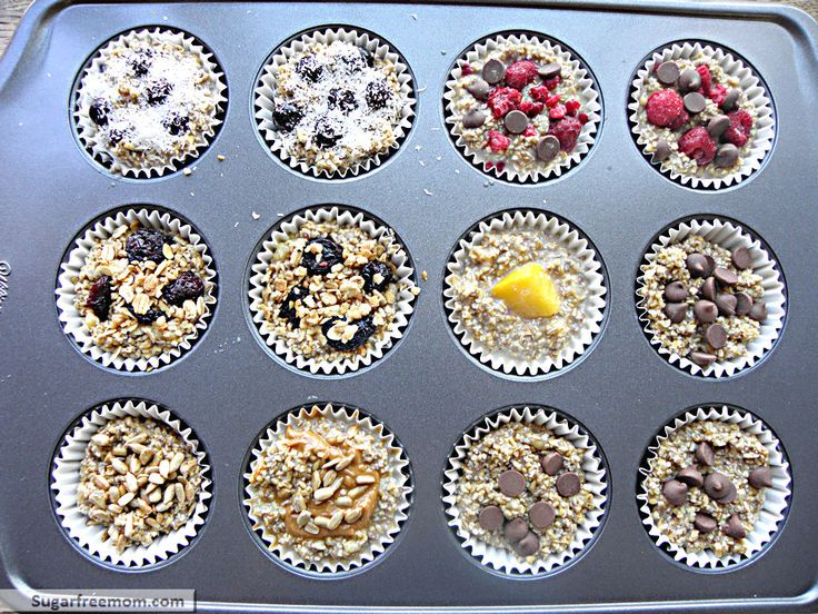 individual oatmeal cups with steel cut oats & chia seeds {plain oatmeal cups: 161 calories}