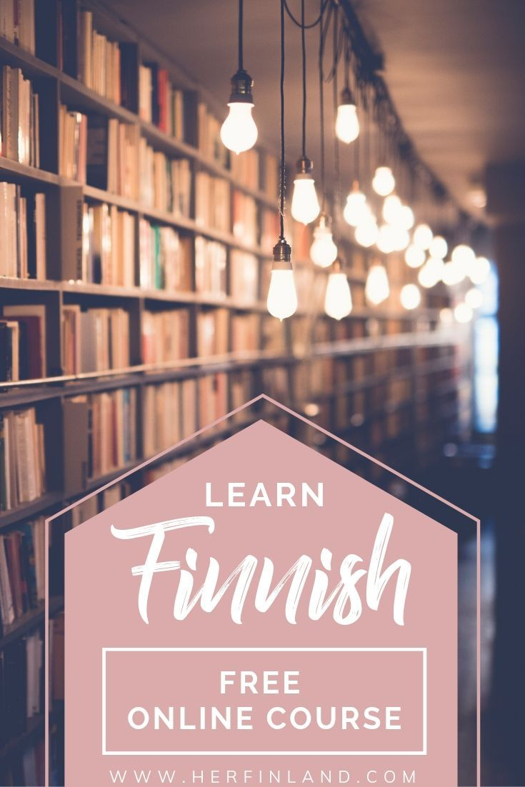 Learn Finnish By Yourself With This Free Online Course