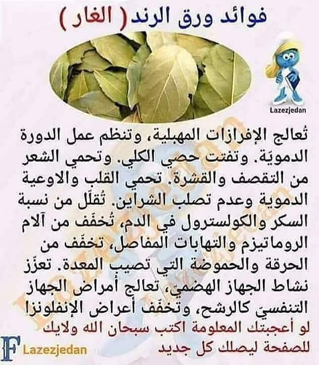 Beautiy Tiips فوائد ورق الغار يغلى مثل الشاي Health Fitness Nutrition Health Facts Fitness Health And Nutrition