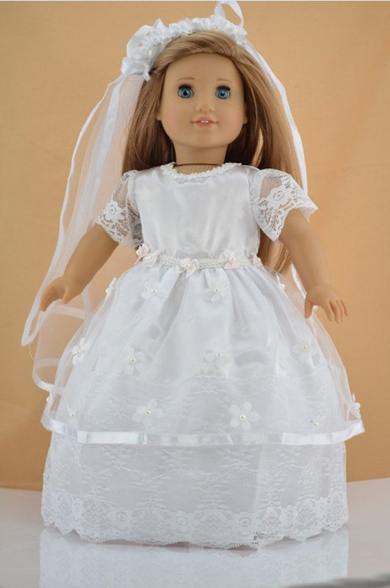 101 best american girl doll wedding dresses images on for American girl wedding dress