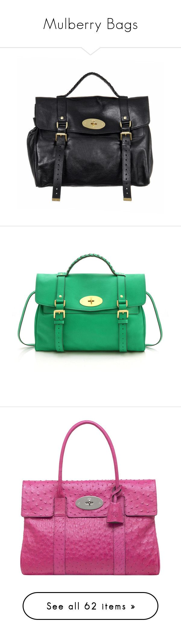 """""""Mulberry Bags"""" by gabriela2105 ❤ liked on Polyvore featuring bags, messenger bags, purses, bolsas, borse, mulberry, women, satchel messenger bag, satchel handbags and courier bag"""