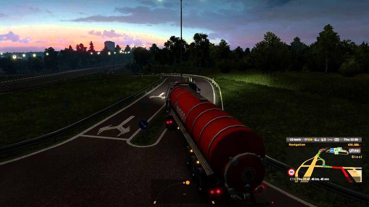 Euro Truck Simulator 2 Scania Streamline R370 Transporting Potassium Hyd...