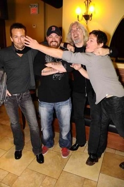 Norman and Sean can't keep their hands off each other