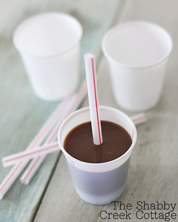 chocolate pudding popsicle recipe