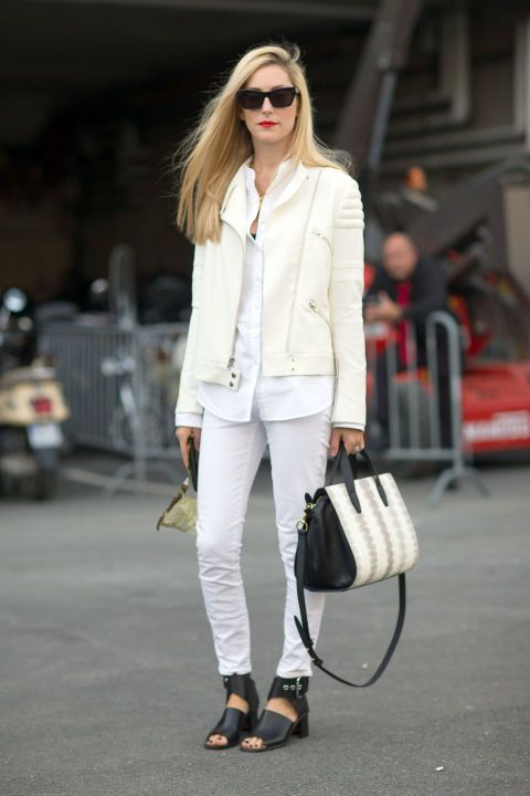 How to wear white denim jeans: 10 chic outfit ideas to try this spring.