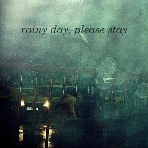 I Love Rainy Days: I Love The First Rain Of Fall