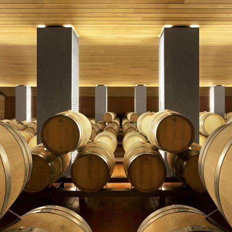 Wine Cellars for Vega-Sicilia (Spain) by Salas Studio #wine #architecture