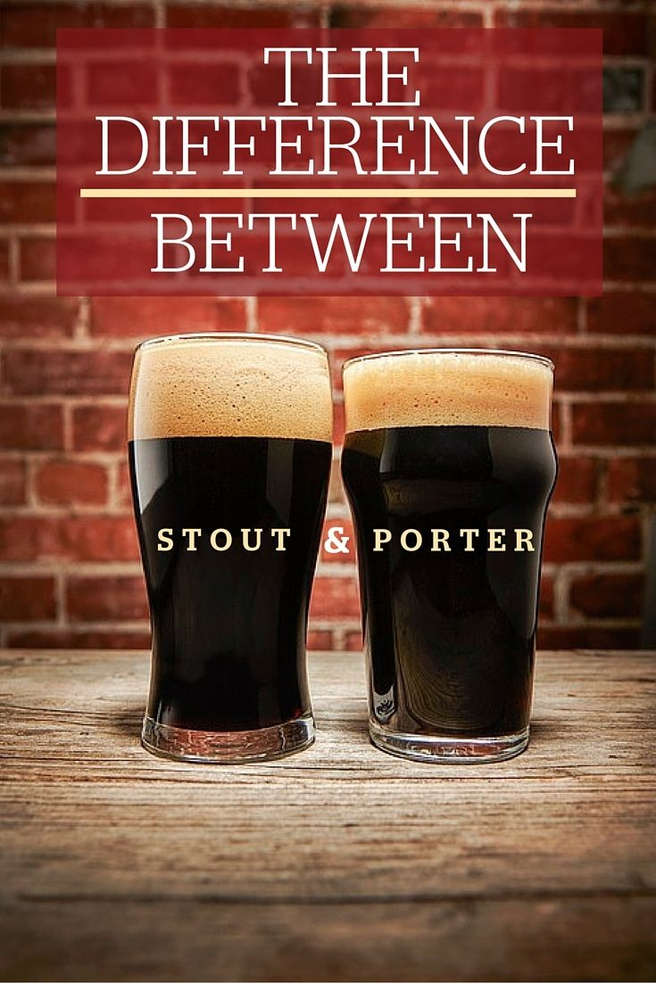 What, Exactly, Is the Difference Between Stout and Porter?