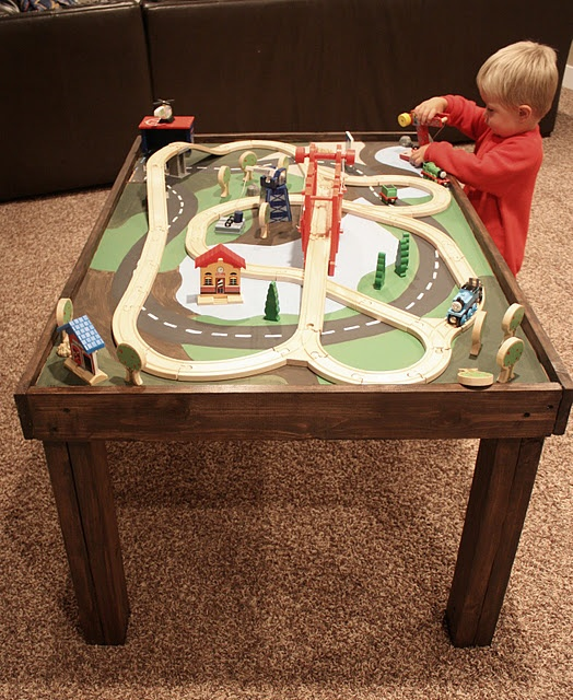Train Table My Son Will Have One Some Day It 39 S Been