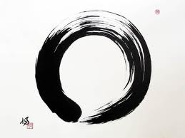 "Enso - Zen This symbol means enlightenment, strength, elegance, the universe, and the void. As an ""expression of the moment"" Enso is often seen as a form of expressionist art. The painting of Enso represents a moment in which consciousness is free and the body and mind are not restricted in Erschaffensprozess. Some artists practice drawing the Enso as a daily spiritual practice. enso"