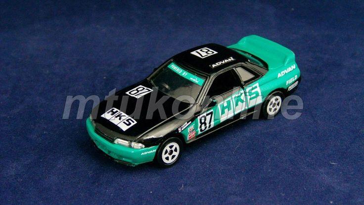 TOMICA 20 NISSAN SKYLINE GT-R 1989   R32   1/59   AJTCC 1992   HKS ADVAN #87