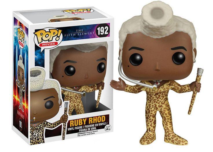 Funko Pop Movies - The Fifth Element - Le 5ème Element - Ruby Figure / Figurine